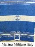 イタリア海軍士官用メルトン・ウール・ブランケットUSED